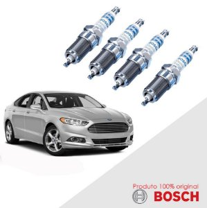 Jogo Vela Fusion 2.5 16v Duratec DOHC 13-16 Bosch Iridium