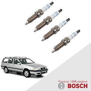 Jogo Vela Volvo V70 I 2.3 20v 97-00 Orig Bosch Platina
