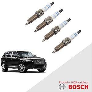 Jogo Vela Volvo XC90 I 2.5 20v 02-12 Orig Bosch Platina