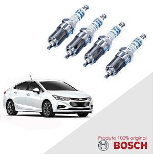 Jogo Vela Cruze Sport 1.8 16v Ecotec 6 11-16 Bosch Iridium