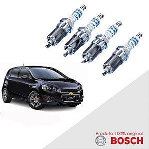 Jogo Vela Sonic 1.6 16v Ecotec 12-14 Orig Bosch Iridium