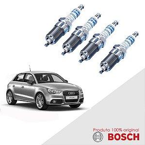Jogo Vela Audi A1 1.4 16v  10-15 Orig Bosch Iridium