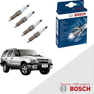Kit Jogo Velas Original Bosch Onix 1.0 8v SPE/4 Flex 12-17