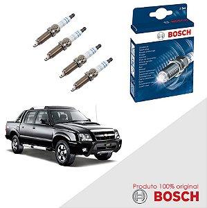 Kit Jogo Velas Original Bosch S-10 2.2 SOHC MPFI Gas 97-00