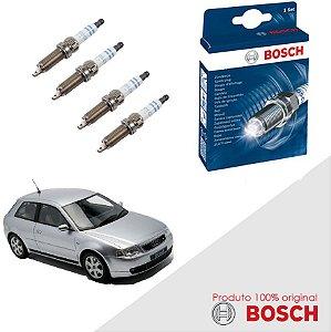 Kit Jogo Velas Original Bosch A3 1.8 20v  Gas 99-06