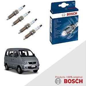 Kit Jogo Velas Original Bosch Towner 0.8  Gas 98-03