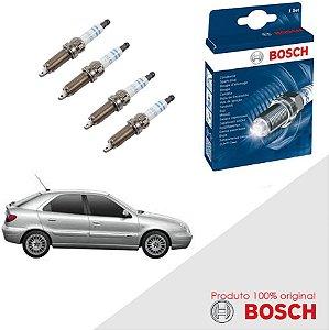 Kit Jogo Velas Original Bosch Chery A3 1.6 8v Gas 43077