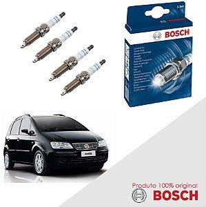 Kit Jogo Velas Original Bosch Idea 1.4 8v Fire  Flex 05-10