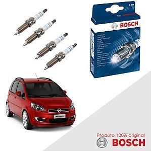 Kit Jogo Velas Orig Bosch Idea G2 1.8 16v E.torQ Flex 10-14
