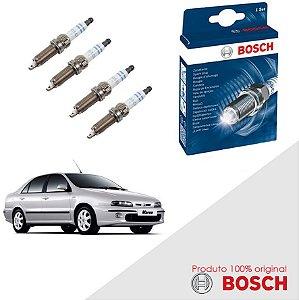 Kit Jogo Velas Original Bosch Xantia 1.6 8v Gas 98-01