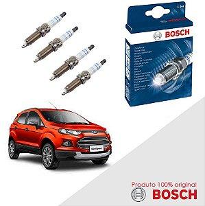Kit Jogo Velas Bosch Nova Ecosport 1.6 16v Sigma  Flex 12-17
