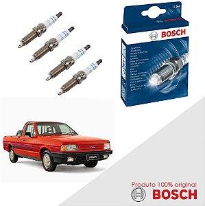 Kit Jogo Velas Original Bosch Pampa 1.8 8v AP1800 Gas 92-93