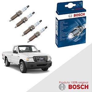 Kit Jogo Velas Original Bosch Ranger 2.3 16v  Gas 94-97