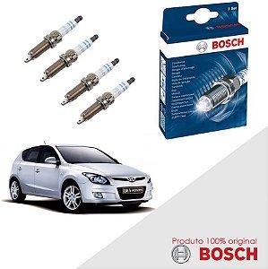 Kit Jogo Velas Original Bosch I30 2.0 16v B2 Gas 07-13