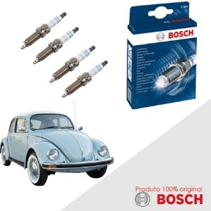 Kit Jogo Velas Original Bosch Fusca 1.3 8v  Gas 68-83