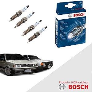 Kit Jogo Velas Original Bosch Gol 1.8 8V AP Alc 86-87