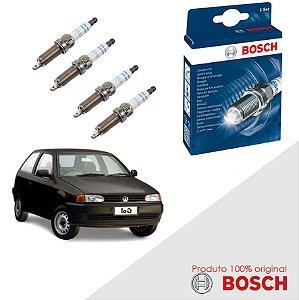 Kit Jogo Velas Orig Bosch Gol G2 1.8 8v 522 AP1800 Gas 94-97