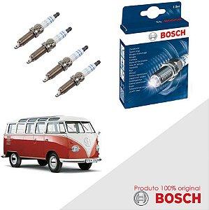 Kit Jogo Velas Original Bosch Kombi 1.4 8V EA111 Flex 08-13