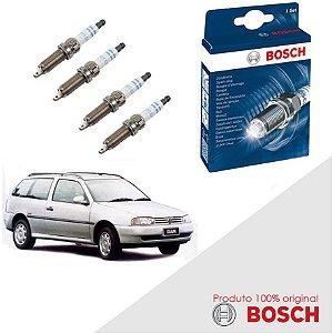 Kit Jogo Velas Original Bosch Parati G2 1.8 8v AP Alc 97-99