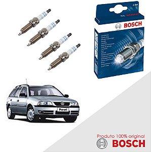 Kit Jogo Velas Orig Bosch Parati G3 1.8 8v AP827 Gas 99-05