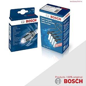 Kit Jogo Cabo+Velas Bosch Opala 4.1 12v 6cc 250 Alc 84-92