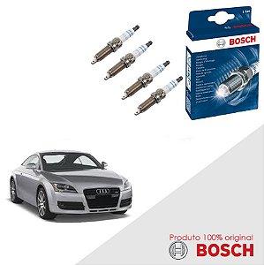 Jogo Velas Original Bosch TT Coupe 1.8 20v Gas/Flex 98-99