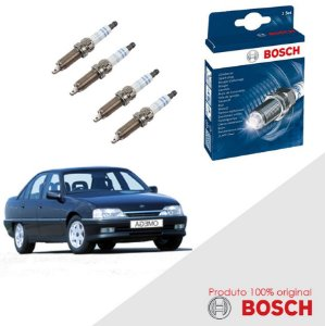 Jogo Velas Original Bosch Omega 2.0 8v SOHC MPFI Gas 92-94