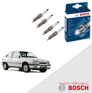 Jogo Velas Original Bosch Kadett 1.8 8v SOHC EFI  Gas 91-97