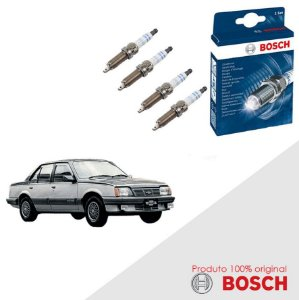 Kit Jogo Velas Original Bosch Monza Hatch 1.6 8v Gas 82-86