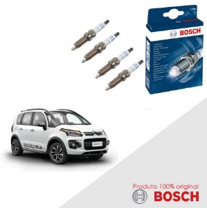 Kit Jogo Velas Original Bosch Aircross 1.6 16v Gas 43049