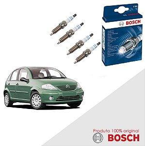 Kit Jogo Velas Original Bosch C3 1.6 16v Gas 03-12