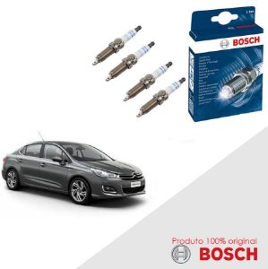Kit Jogo Velas Original Bosch C4 Lounge Flex 13-16