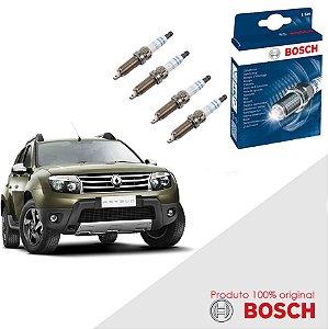 Kit Jogo Velas Original Bosch Duster 1.6 16v  Flex 11-16