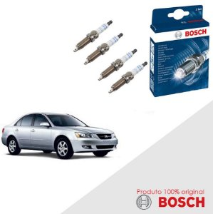 Kit Jogo Velas Original Bosch Sonata 3.0 12v G6at Gas 93-98
