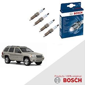 Kit Jogo Velas Original Bosch Cherokee 3.7 12v  Gas 01-07
