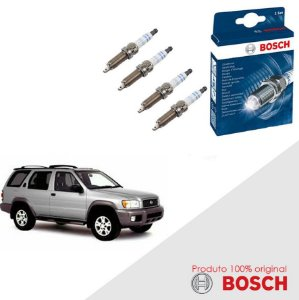 Kit Jogo Velas Original Bosch Pathfinder 3.3 12v Gas 97-02