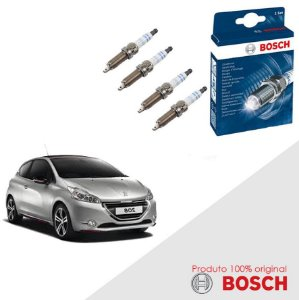Kit Jogo Velas Original Bosch 208 1.6 16v Flex 13-16