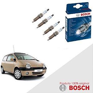 Kit Jogo Velas Original Bosch Twingo 1.0 16v Gas 01-07