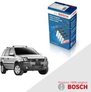 Cabo de Ignição Orig. Bosch Ecosport 1.6 8v Zetec Gas 03-07
