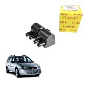 Bobina Original Bosch Corsa Wagon 1.6 16v DOHC SFI Gas 97-01