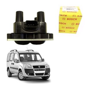 Bobina Original Bosch Doblo 1.8 8v Powertrain Gasolina 03-06