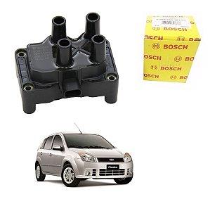 Bobina Orig Bosch Fiesta G4 1.6 8v Zetec Rocam  Flex 10-14
