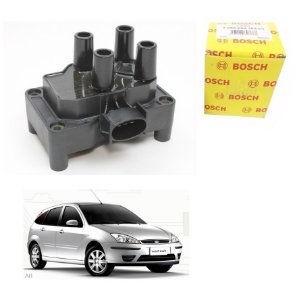 Bobina Orig Bosch Focus 1.6 8V Zetec Rocam  Gasolina 04-09