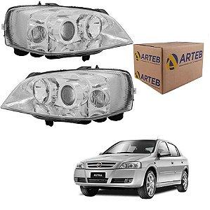 Par Farol Astra 03-11 com regulagem elétrica S/motor Arteb