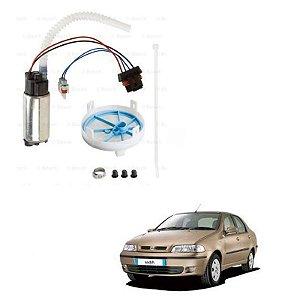 Kit Bomba Combustível Siena 1.4 MPI 8V 06-07-Tetrafuel Bosch