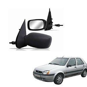 Retrovisor Fiesta Sedan 96 -99  Esquerdo Contr Interno Orig