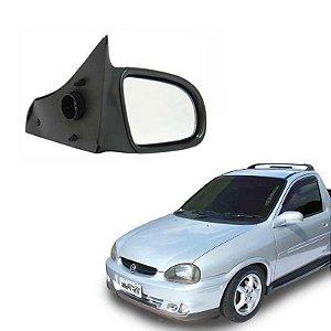 Retrovisor Corsa Pick-up 94 a 01  Direito Fixo Original