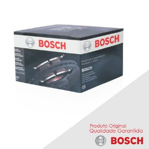 Pastilha Freio Bosch Cerâmica Golf G3 Sapo 1.6 01-07 Diant