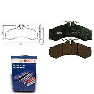 Pastilha de Freio Dianteira 313 CDI Sprinter 01-12 Bosch