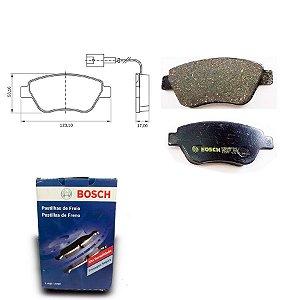Pastilha de Freio Dianteira 500 1.4 07-18 Original Bosch